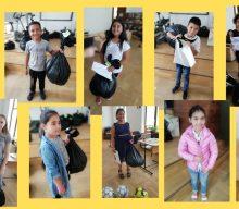 Sprijin material oferit familiilor din comunitatile vulnerabile din Slatina, Romania